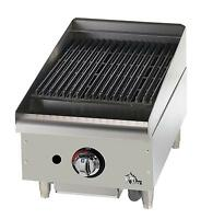 Star 6115RCBF Star-Max Countertop 15in Radiant Gas Charbroiler
