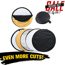 80cm Photo Photography 5 in1 Light Multi Collapsible Reflector Studio Lighting