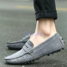 Loafer Driving Pump Comfort Slip On Suede Leather Leisure moccasin-gommino Shoes