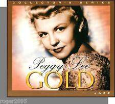 Peggy Lee - Gold (2006) - New 20 Song CD! 1940's, 50's Hits!