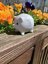 Precious Moments Purr Fect Kitty Kitten Cat Miniature Piggy Bank 3 X 3.5 ��tb11j