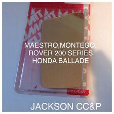 MAESTRO,MONTEGO,ROVER 200.REPLACEMENT FLAT DOOR MIRROR GLASS (NON HEATED)