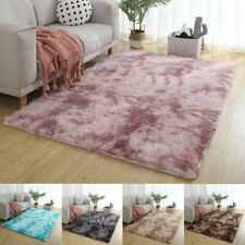 Large Fluffy Rugs Anti-Skid Shaggy Area Rug Living Room Carpet Floor Mat Bedroom