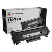 LD Compatible Replacement for Brother TN770 Super High Yield Black Toner