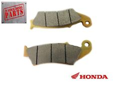 2001-2018 Honda CR CRF 125 150 250 450 230 650 125 F X R FEO Front Brake Pad Set