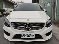 NEW Mercedes Benz B class W246 SILVER RACING DIAMOND grille fit FOR 2015-2018 y