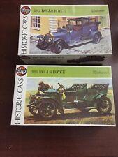 Airfix Kit Plastic Model Cars Rolls Royce 1905 E 1911 1/32 Scale Historic Cars