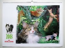 calendrier Chat 2003 ROYAL CANIN