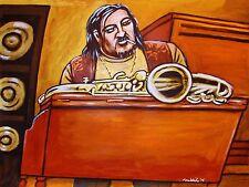 GRAHAM BOND PRINT poster jazz blues hammond b-3 organ organization sound 65 cd