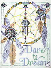 Cross Stitch Kit ~ Design Works Native American Dare to Dream (STAMPED) #DW9816S