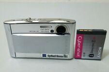 Sony Cyber-shot DSC-T5 5.1MP Super Slim Digital Camera - Silver *GOOD/TESTED*