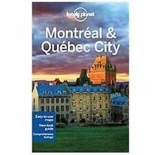 Lonely Planet Montreal & Quebec City (Travel Guide)-ExLibrary