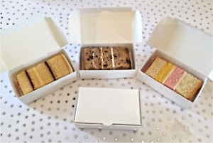 20/40/60 SINGLE CAKE SLICE White Party Wedding Favour boxes FROM £3.79 - inc P&P