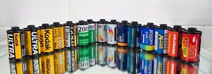 15 rolls of used /Undeveloped 35 mm colour Film Canisters - Mystery Lomo