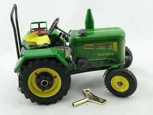 Blechspielzeug - Traktor John Deere Lanz D2416 lim. Sondermodell von KOVAP 0364
