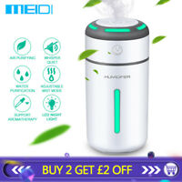 MEIDI LED Ultrasonic Essential Oil Diffuser 7Colors Aromatherapy Air Humidifier