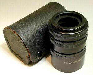 42mm Universal screw mount Macro Tube Close up lens set kit AT-1 12mm-20mm-36mm
