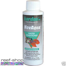 Kordon NovAqua 4 oz Instant Fish Protector & Water Conditioner FREE USA SHIPPING