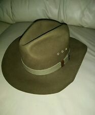 BAILEY SIZE Small COLOR  Brown100%WOOL WESTERN CATTLEMAN  HAT