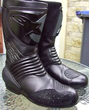 Alpinestars motorcycle boots size 9 UK 43 BREXIT