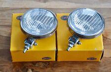 NOS Pair Hella 115 Fog Lights Porsche 911 912 914 356 Volkswagen Samba Split T1