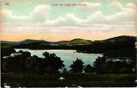 Vintage Postcard - Posted 1908 View Of Lake Oscawana New York NY #3691