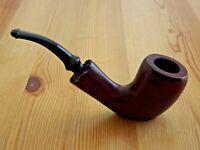 Italian Freehand Briar Pipe - Briar Wood Sitting Tobacco Pipe Hunter Wine