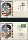 PRESIDENT KENNEDY 'S VISIT TO GERMANY LOT OF 4  COVERS  DATED 6/25/63