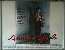 Cinema Poster: AMERICAN GIGOLO 1980 (Quad) Richard Gere Lauren Hutton