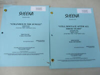 Sheena TV Series Shooting Script Lot Action Adventure Columbia Tristar 2001