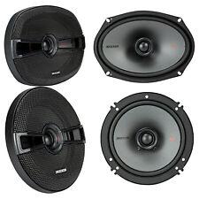 "(2) Kicker 44KSC6904 KSC69 6x9""+(2) Kicker 44KSC6504 KSC6 6.5"" Car Speakers"