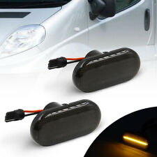 2Pcs Front Led Side Marker Light for Smart Fortwo 453 14-18 Amber Indicator Lamp