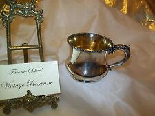 Antique Silver Plated Meriden B. Company Cup Ornate Handle c. 1800's Mkd 290 USA