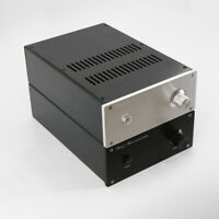 JC229 Full Aluminum Power amplifier Enclosure desktop amp chassis preamp case