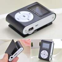 REPRODUCTOR LECTOR MP3 PLAYER RADIO FM ALUMINIO MINI USB MICRO SD 32GB CASCOS
