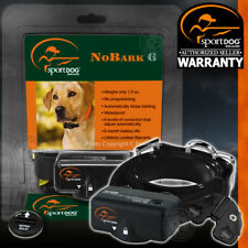 SportDOG No Bark 6 Bark Control Shock Collar Waterproof SBC-6 NEW