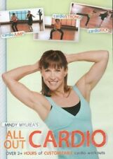 MINDY MYLREA ALL OUT CARDIO ADVANCED EXERCISE DVD NEW SEALED WORKOUT FITNESS