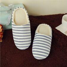 Men Women House Indoor Slippers Home Winter Warm Cotton Shoes Sandals Anti-Slip