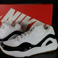 NEW! Nike Dilatta Premium Sneakers Shoes AJ6879 100 White Black Men's Size 12