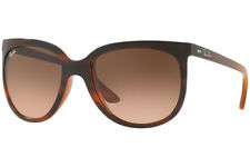 NEW Authentic RAY-BAN CATS 1000 Tortoise Pink Brown Sunglasses RB 4126 820/A5