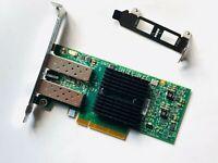 Dell YHTD6 0YHTD6 Mellanox ConnectX-3 10Gb SFP+ Dual Port CX322A Network Card