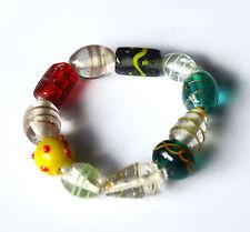 Buntes Armband, Glasperlen