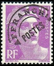 """FRANCE STAMP PREOBLITERE N° 102 """" MARIANNE 10F LILAS """" NEUF xx LUXE"""