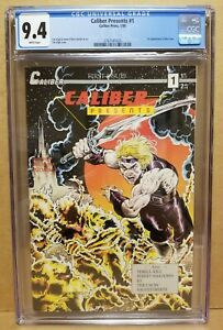 CALIBER PRESENTS #1 CGC 9.4 (NM) 1ST APPEARANCE OF THE CROW 1989 JAMES O'BARR