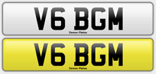 PERSONAL NUMBER PLATE   V6 BGM