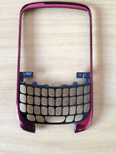 BLACKBERRY CURVE 8520 GENUINE FASCIA RED FRONT COVER