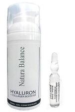 SET Hyaluron Collagen BOOSTER Gel 50ml + 15 Collagen Ampullen 2ml Hyaluronsäure