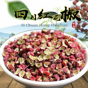 Red Sichuan Pepper Whole Dried Szechuan Hanyuan Peppercorns New