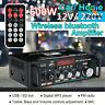 600W Digital HiFi bluetooth Audio Stereo Amplifier Amp USB FM SD Mic Home & Car