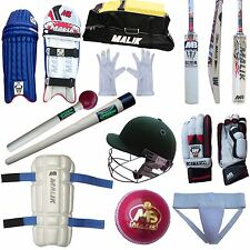 7 pieces MB Sher Amin cricket kit bat pads gloves helmet